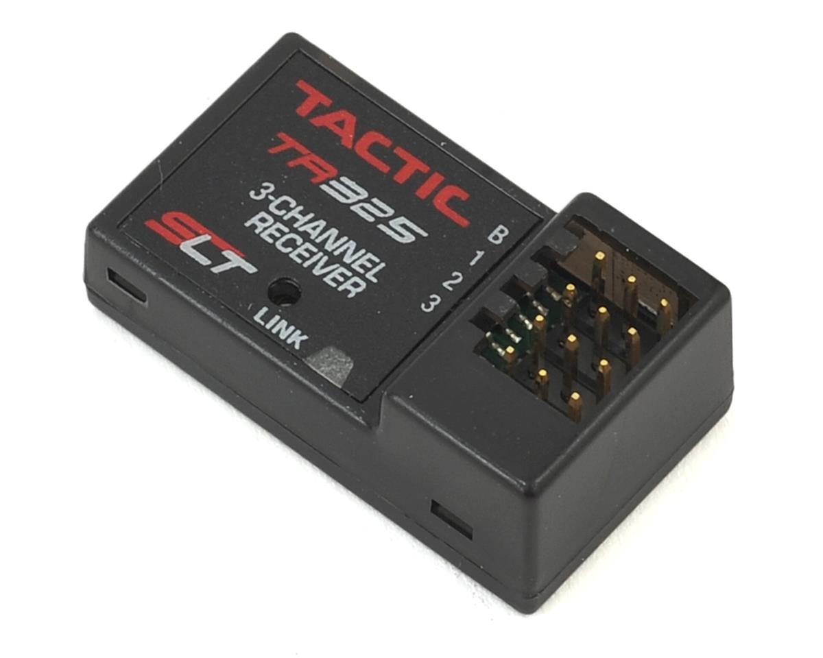TR325 3-Channel 2.4Ghz SLT Receiver by Tactic
