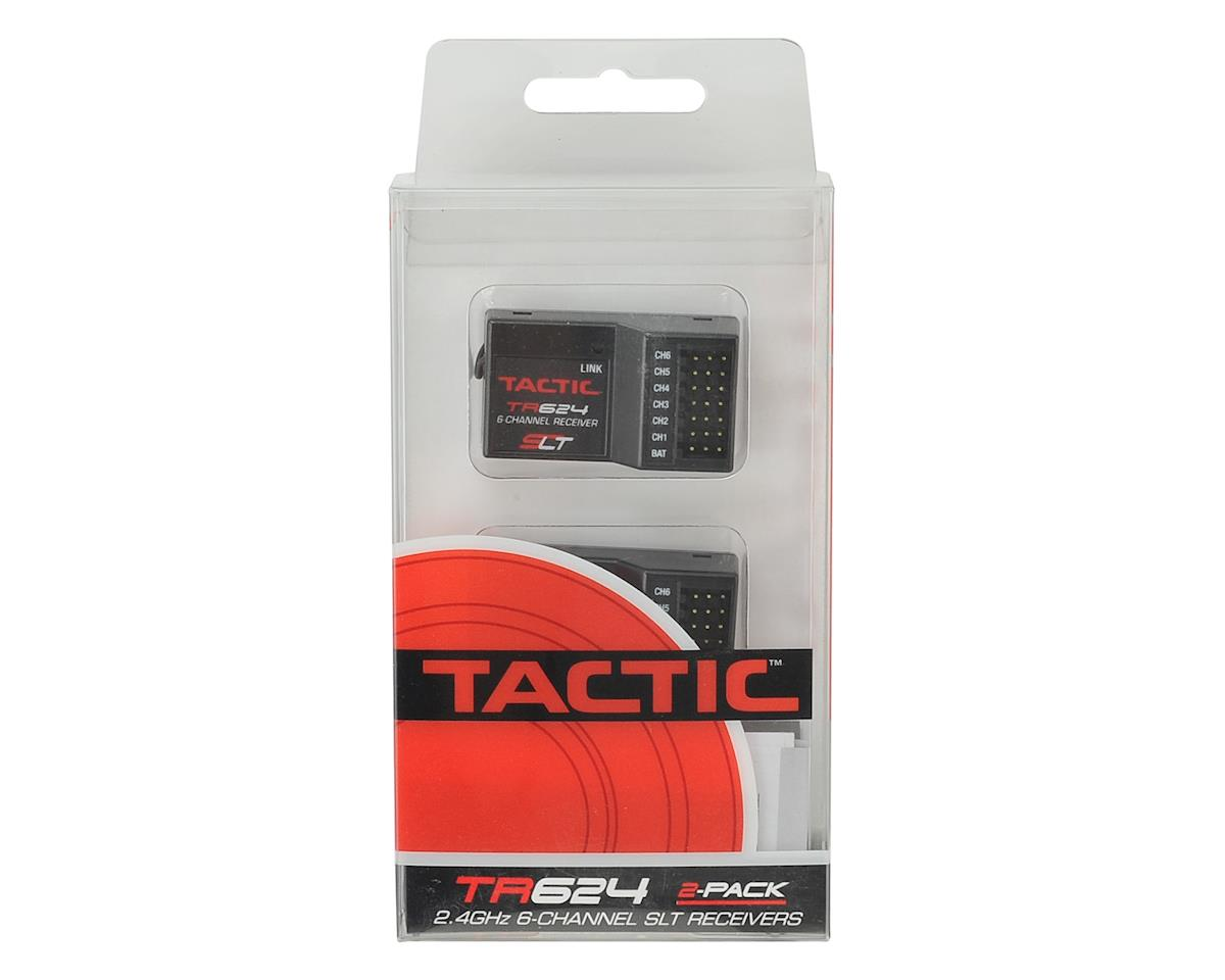 TR624 6-Channel 2.4GHz SLT Receiver 2-Pack by Tactic