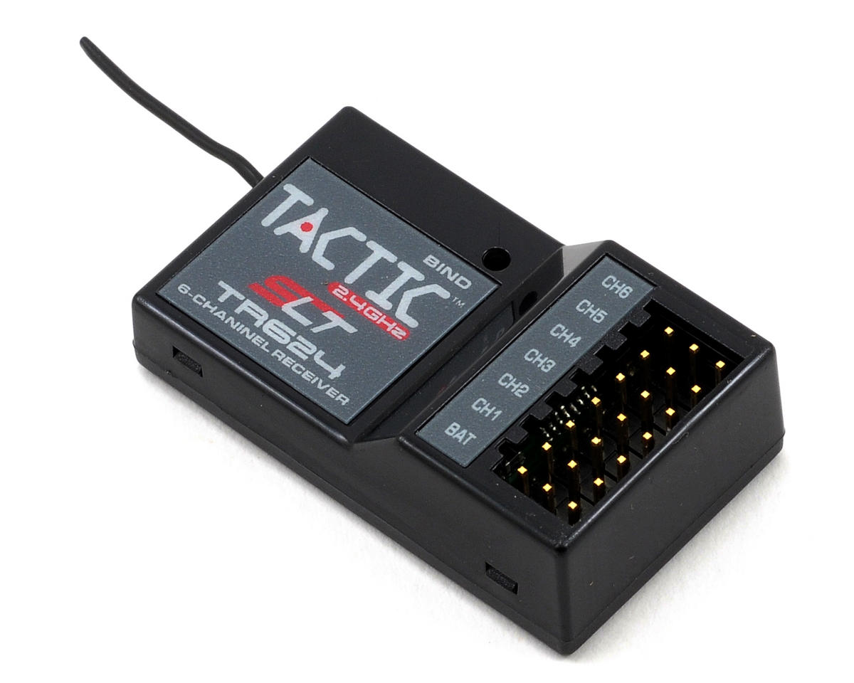 Tactic TR624 2.4GHz 6-Channel Receiver