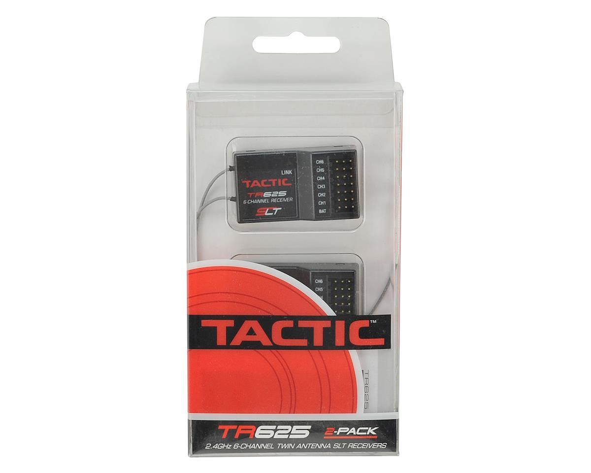 Tactic TR625 6-Channel 2.4GHz SLT Twin Antenna Receiver 2-Pack