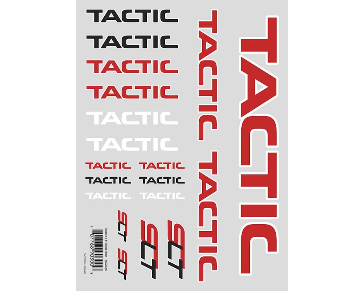 Tactic Die Cut Decal Sheet 8x11