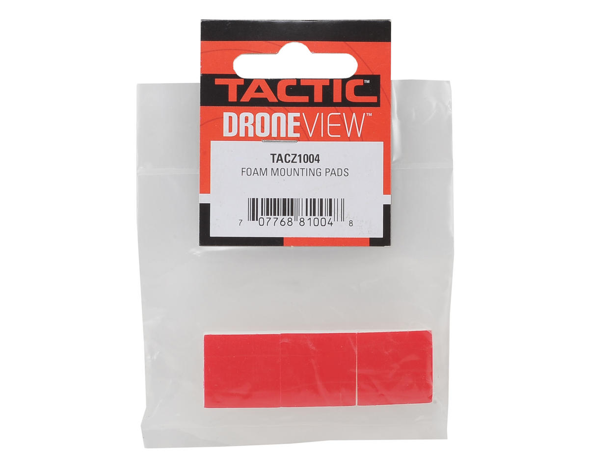 Tactic DroneView Foam Mounting Pads (3)
