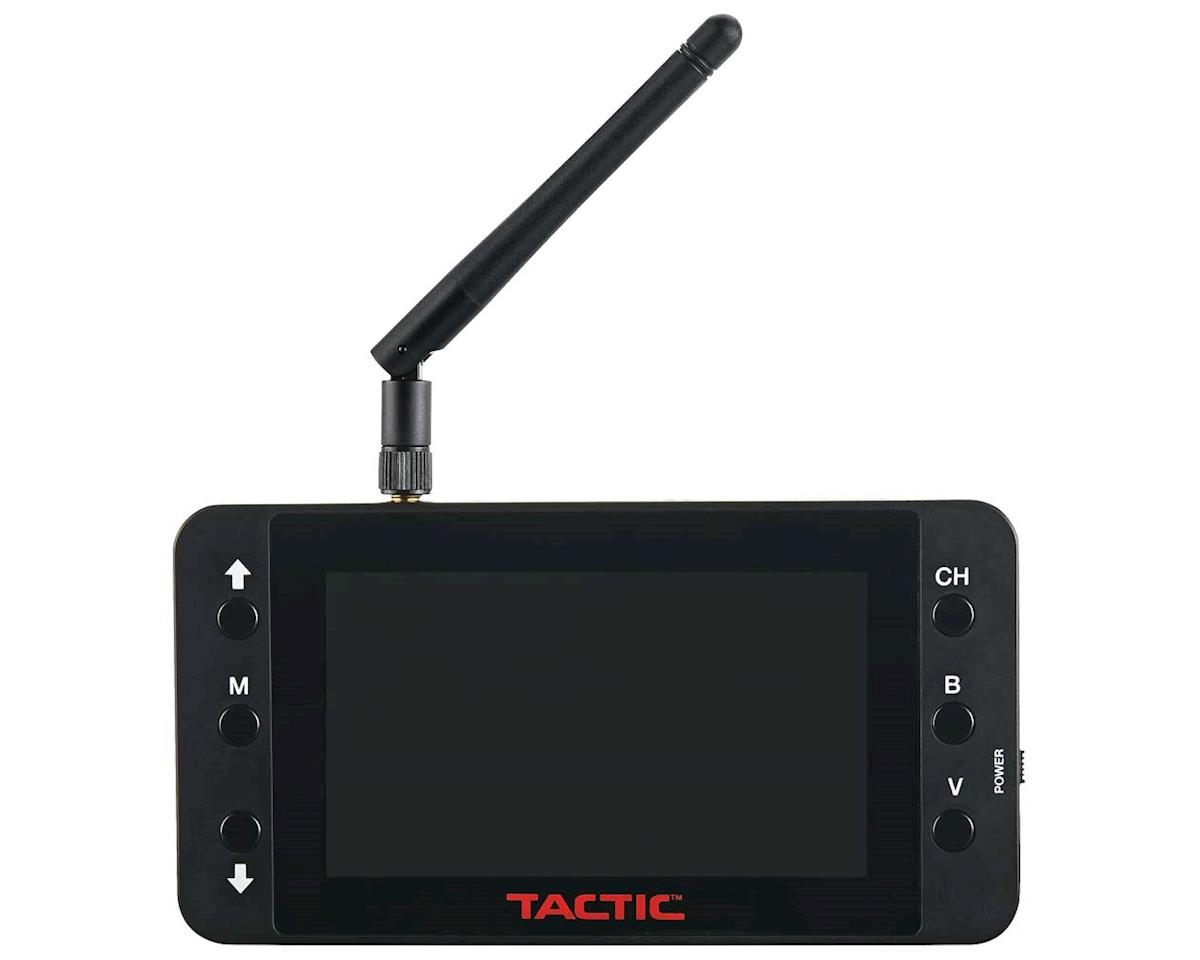 """Tactic FPV-RM2 4.3"""" 480x272 Monitor 5.8GHz 40Ch RB"""