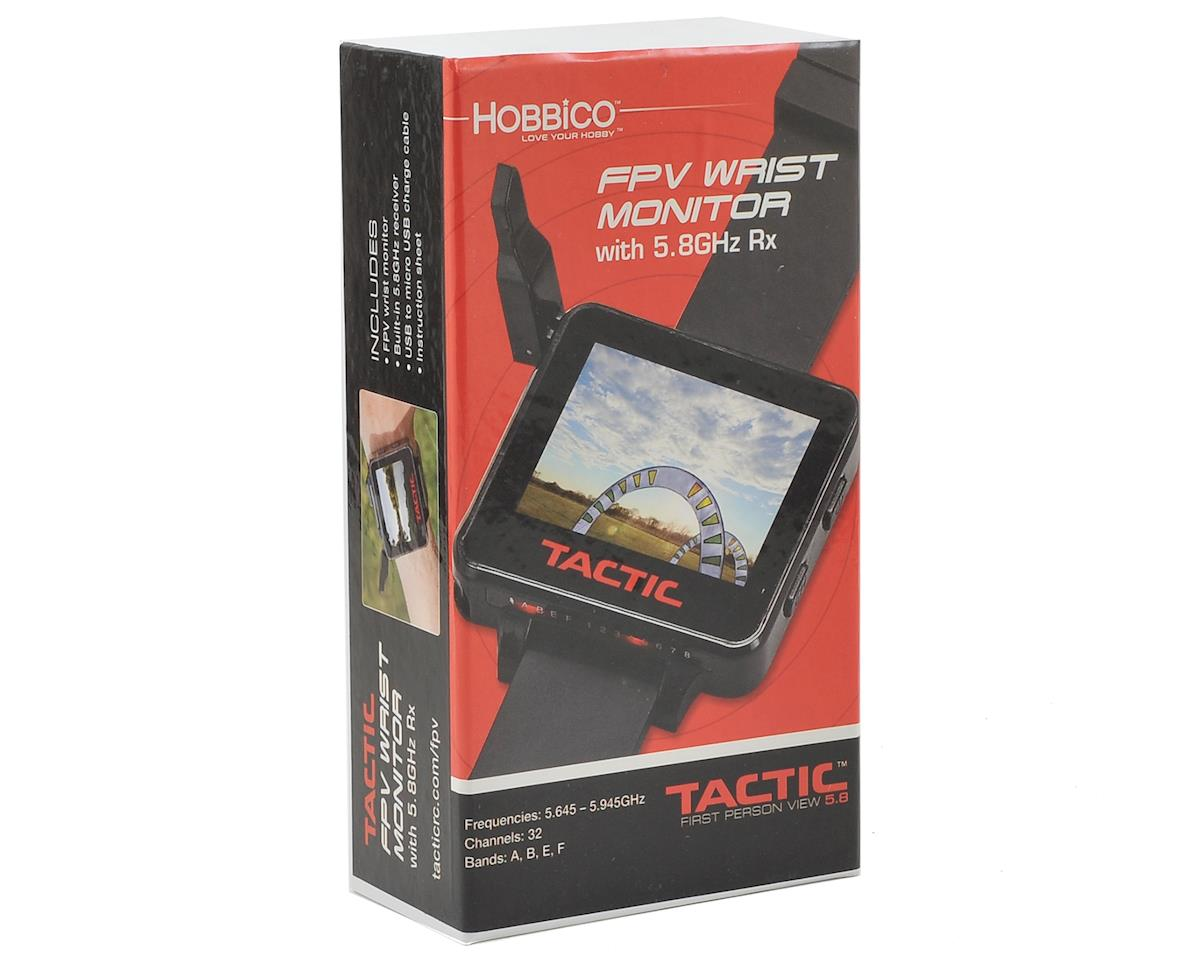 Tactic 5.8GHz 32CH FPV Wrist Monitor