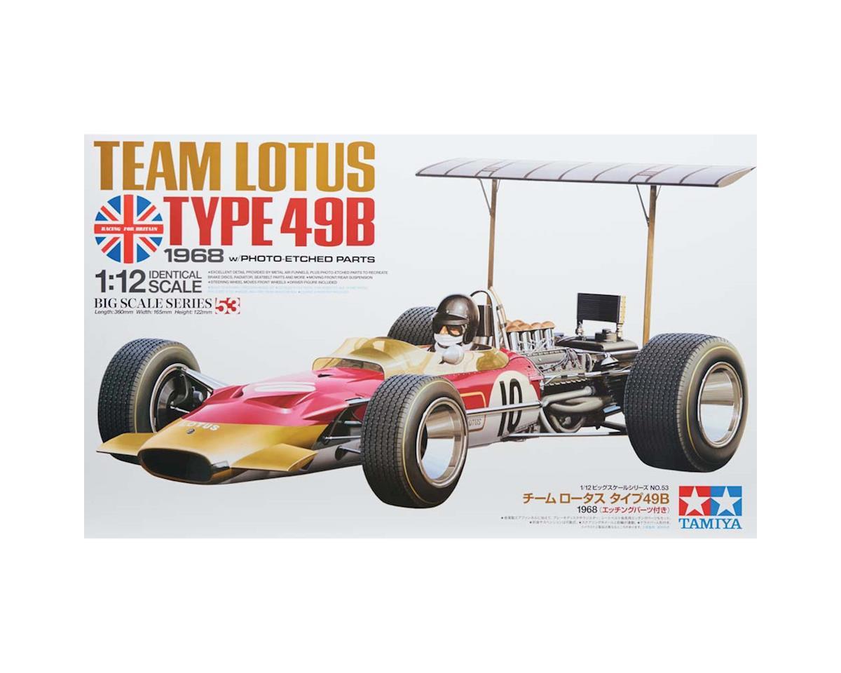 Tamiya 12053 1/12 Team Lotus Type 49B 1968 w/Photo Etched Part