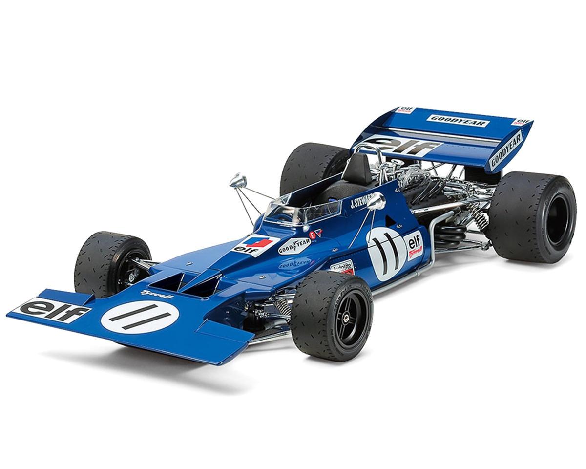 Tamiya 12054, 1/12 Tyrrell 003 '71 Monaco GP w/Etch Parts
