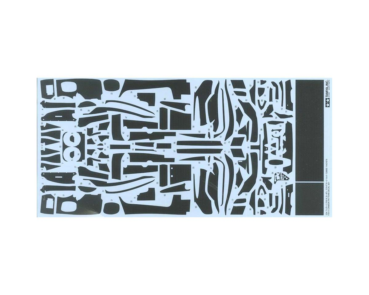 1/24 FXX K Carbon Pattern Decal Set by Tamiya