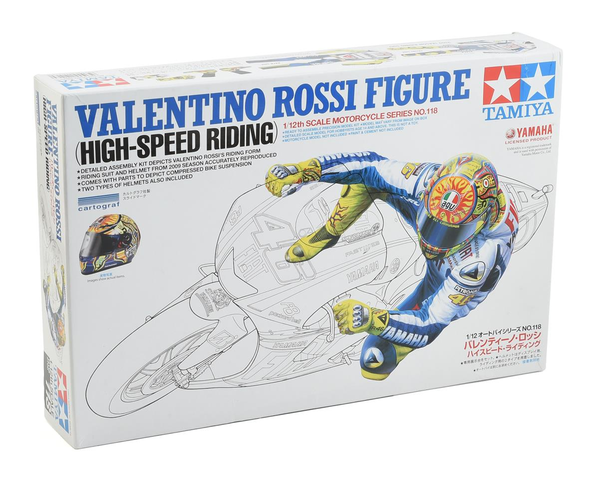 Tamiya Valentino Rossi High Speed 1/12 Rider Figure
