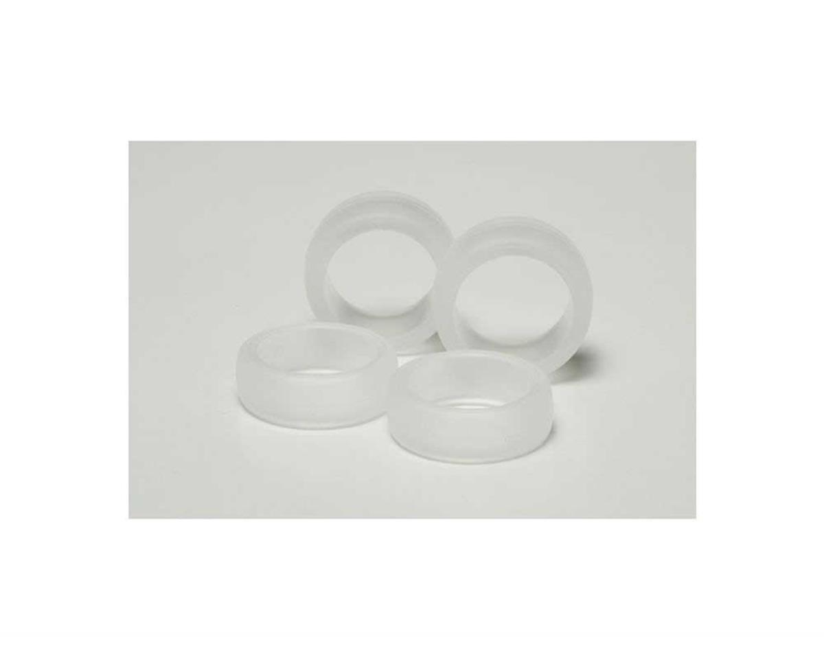 Tamiya JR Large Diameter Soft Tire Set (Clear)