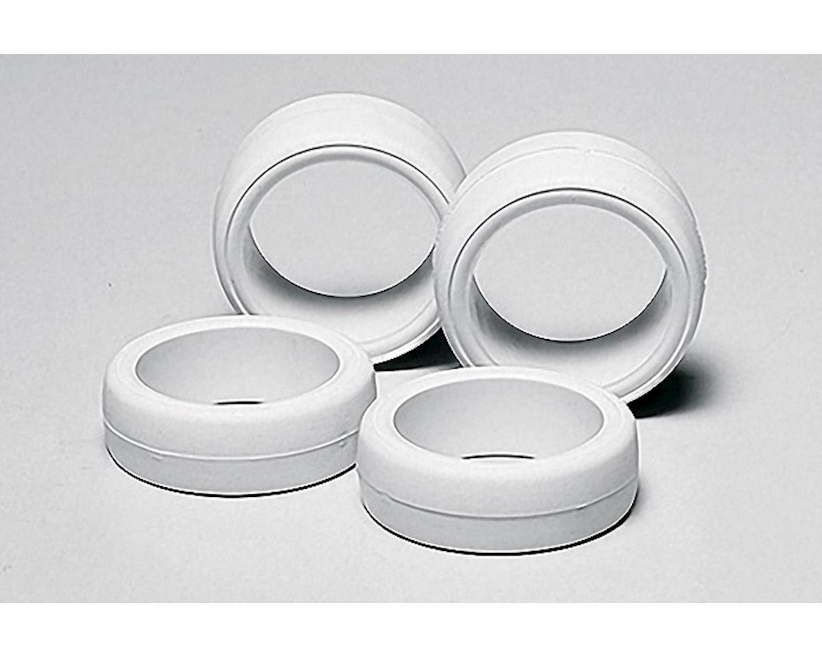 Tamiya JR Large Diameter Hard Tire Set (White)