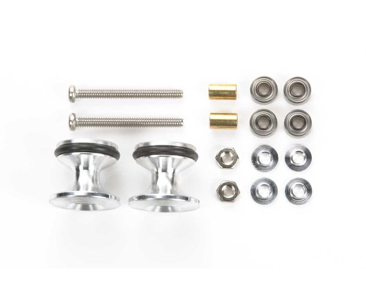 Tamiya JR Double Aluminum Rollers w/Rings