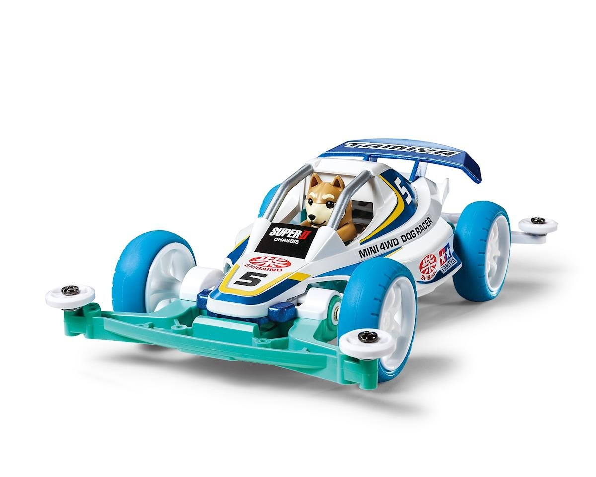 Tamiya 1/32 JR Dog Racer Super II Chassis Mini 4WD Kit