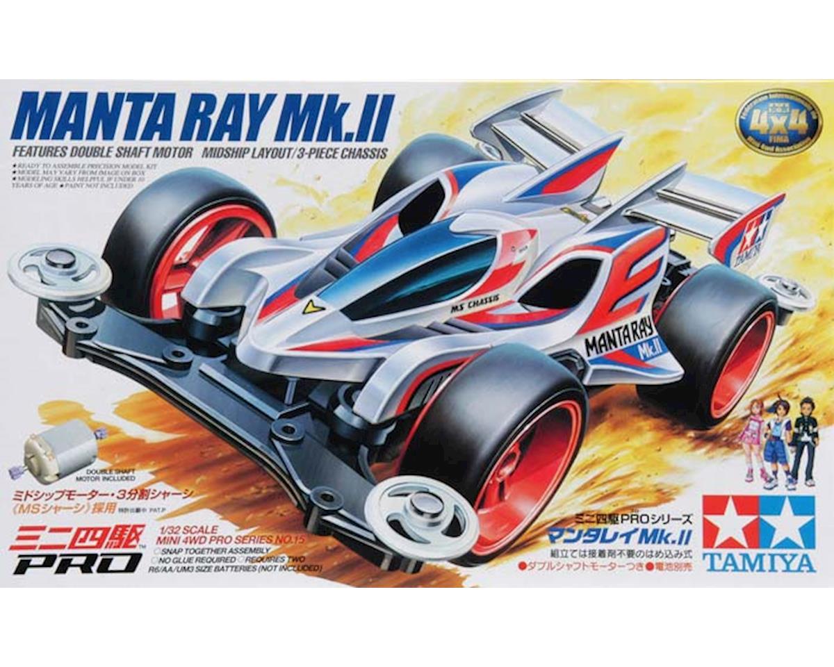 Tamiya Mini 4wd Pro Manta Ray Mkii Tam18615 Toys Hobbies Basic Tune Up Parts Set For Ar Chassis