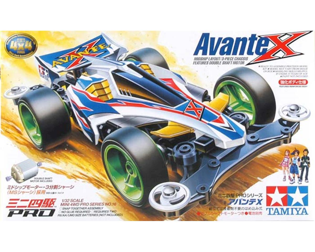 Tamiya 1/32 Avante X Mini 4WD Pro Model Kit