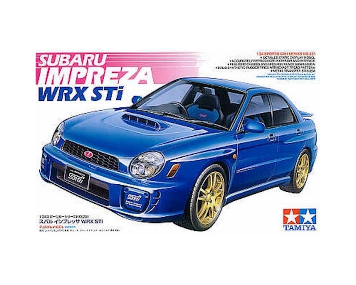 Tamiya 1/24 '01 Subaru Impreza STI