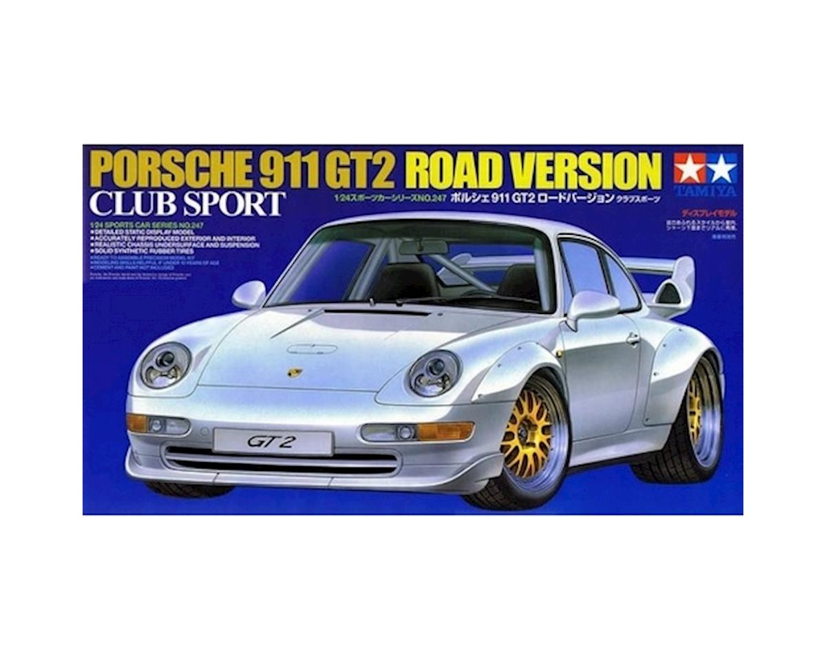Tamiya 1/24 Scale GT2 ST Version Porsche