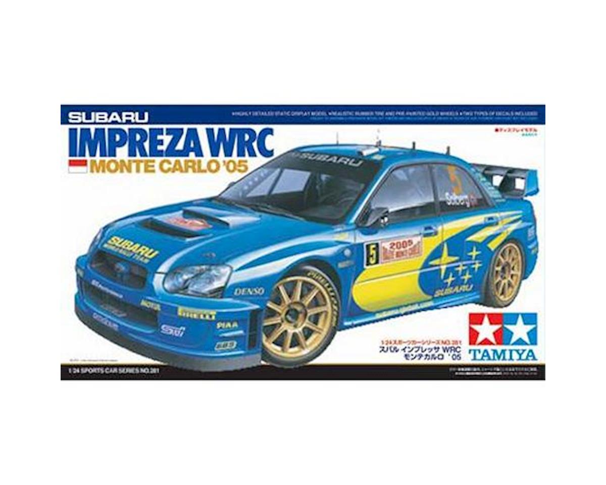 Tamiya 1/24 Subaru Impreza WRC Monte Carlo 2005 Race Car