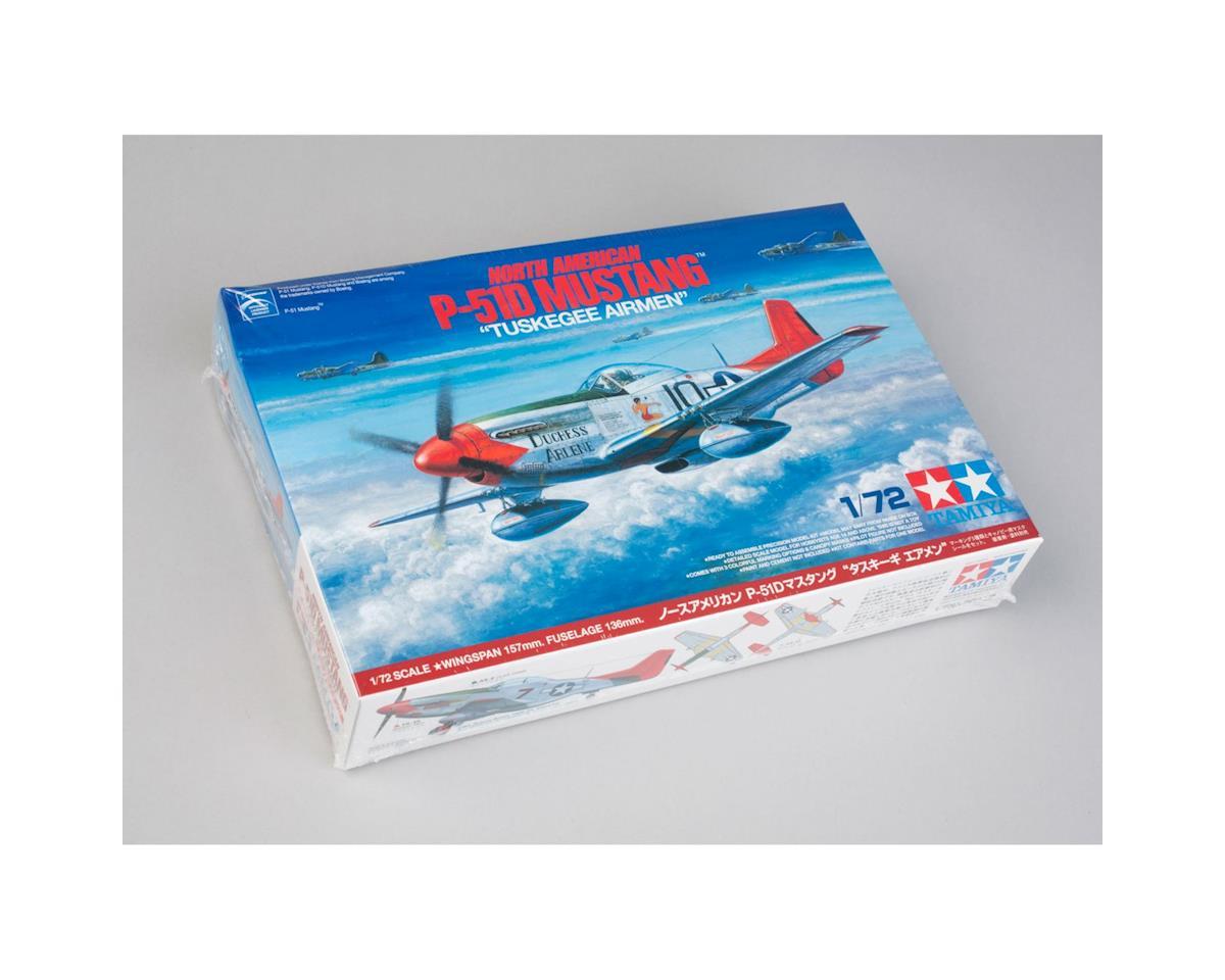 """Tamiya 1/72 N America P-51D Mustang, """"Tuskegee Airmen"""""""