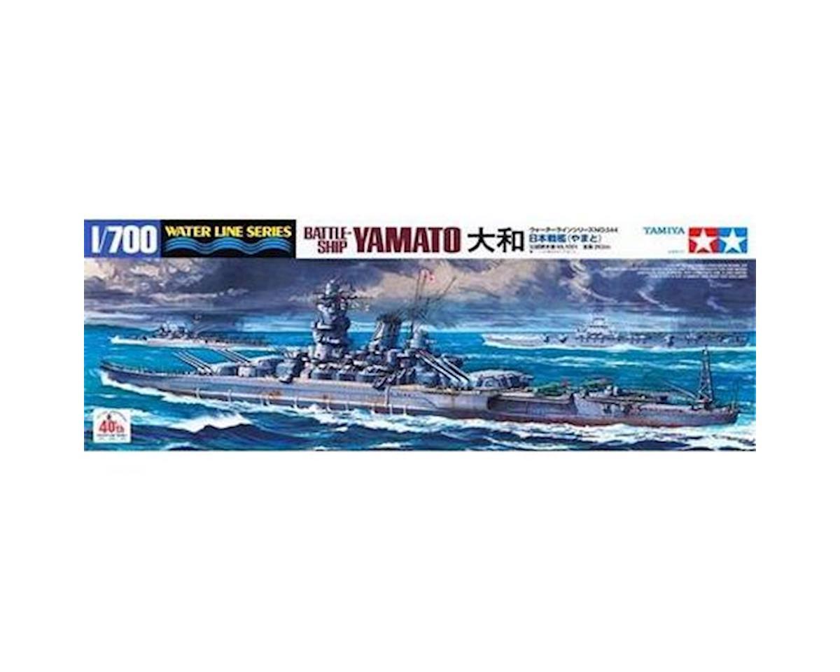 Tamiya 1/700 Japanese Yamato Battleship