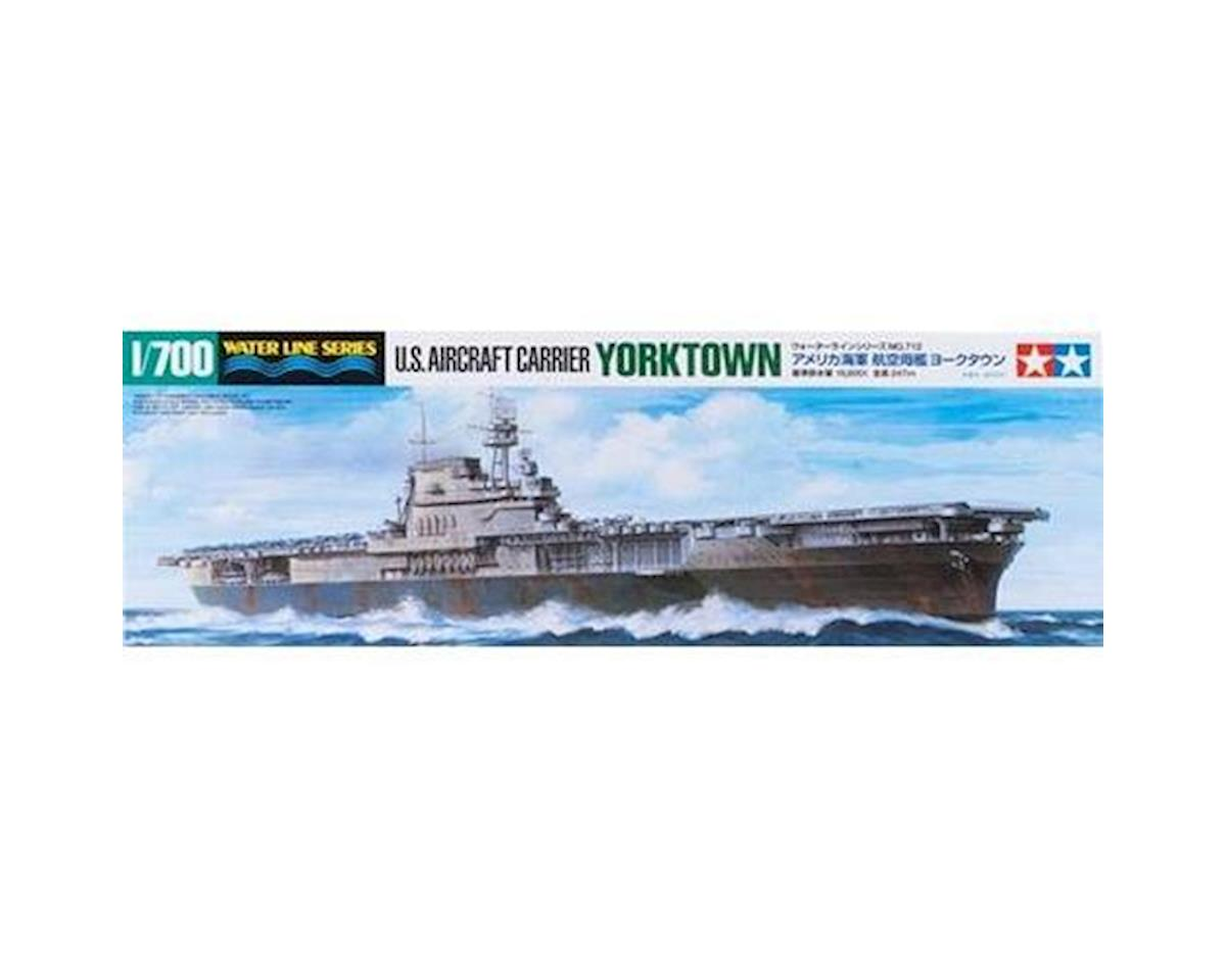 Tamiya 1/700 US Aircraft Carrier Yorktown CV-5