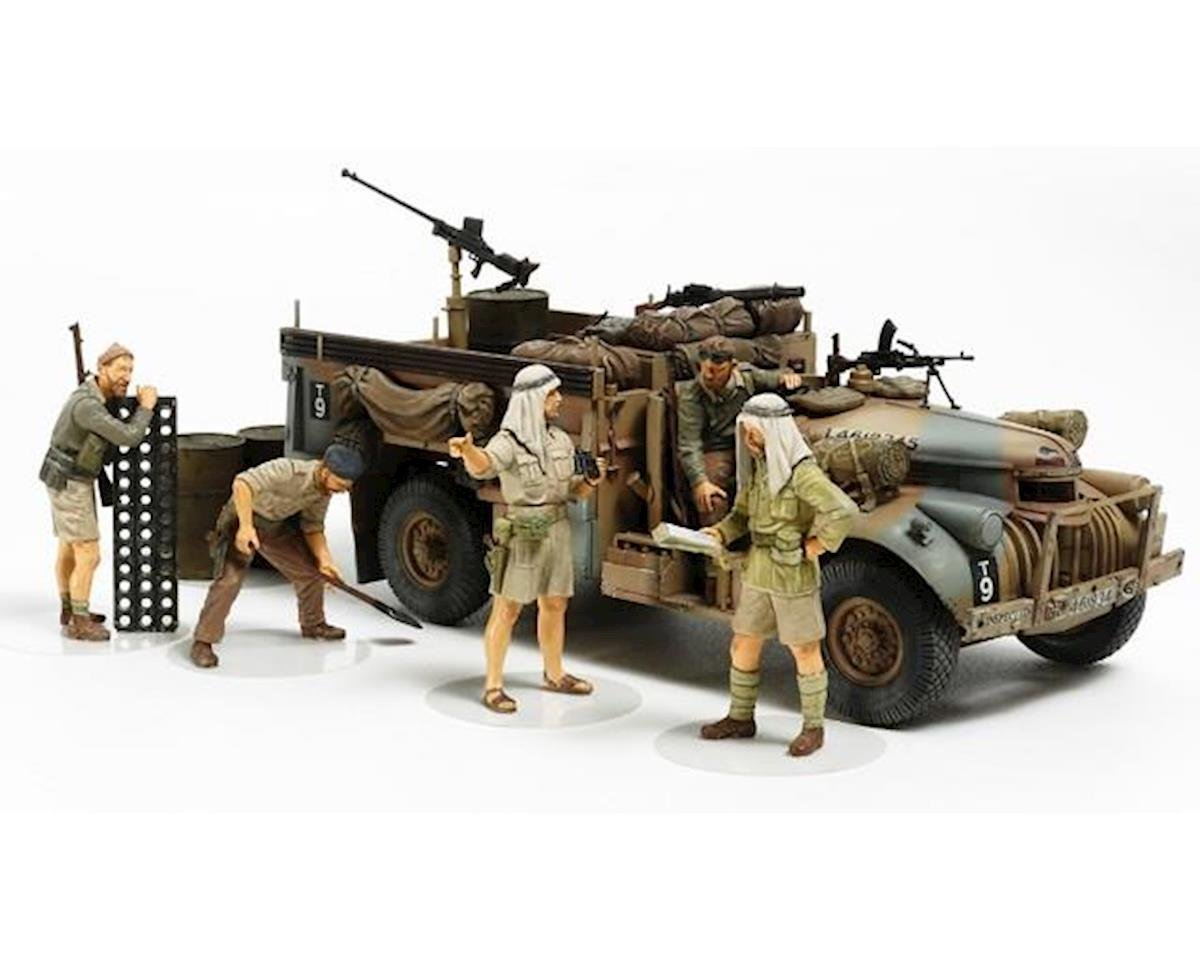 TAM32407 1/35, British LRDG Command Car, 7pc by Tamiya