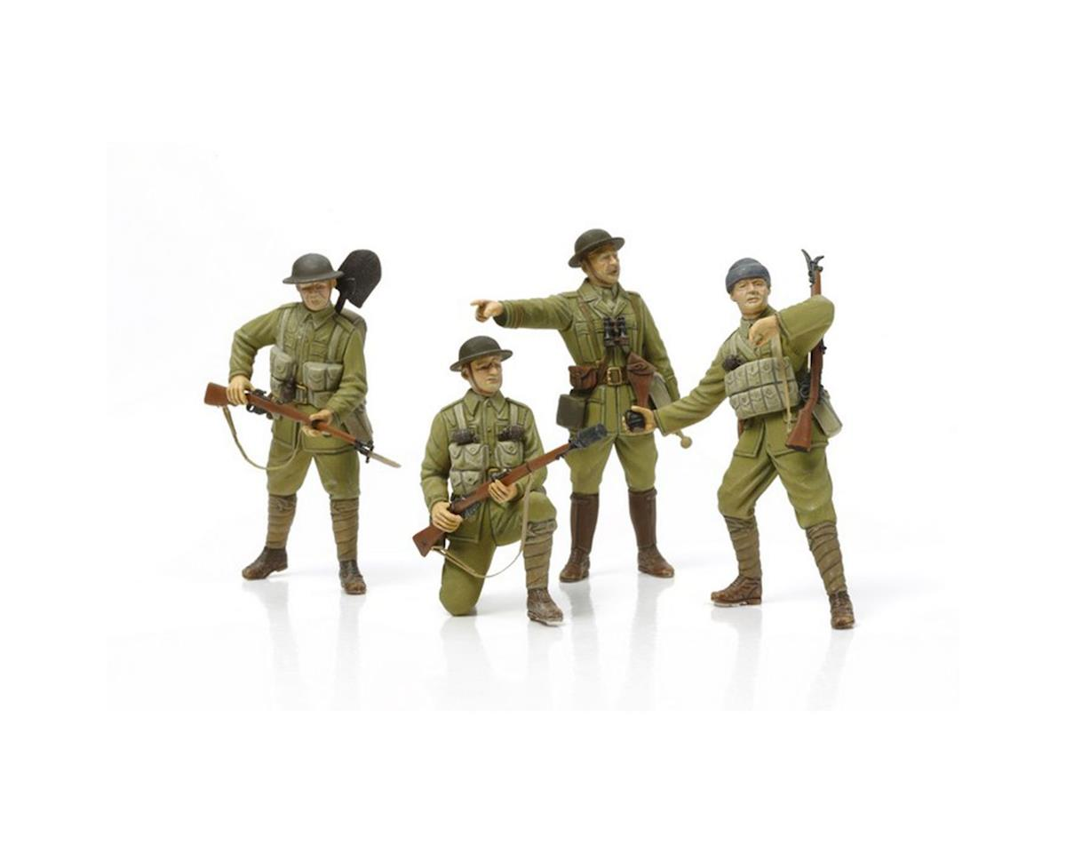 32409, WWI British Infantry, w/Sm Arms & Equip,ICM by Tamiya