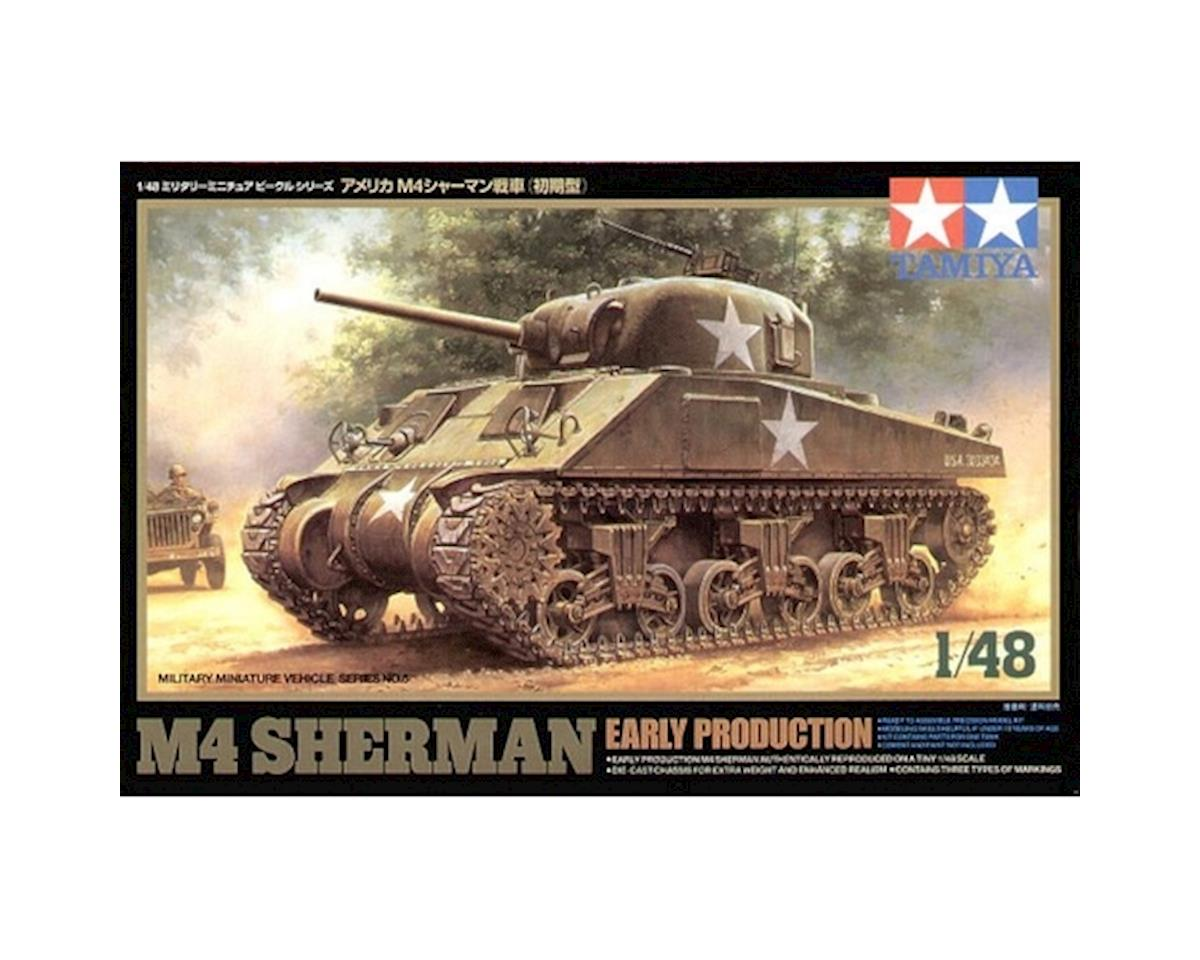 1/48 M4 Sherman Tank-Early by Tamiya