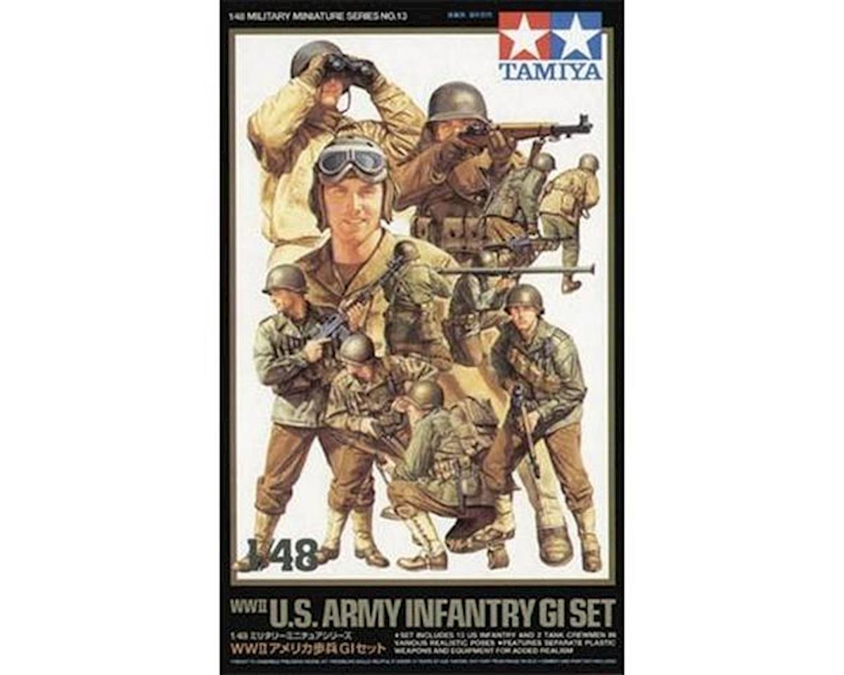 Tamiya 1/48 WWII US Army Infantry GI Set