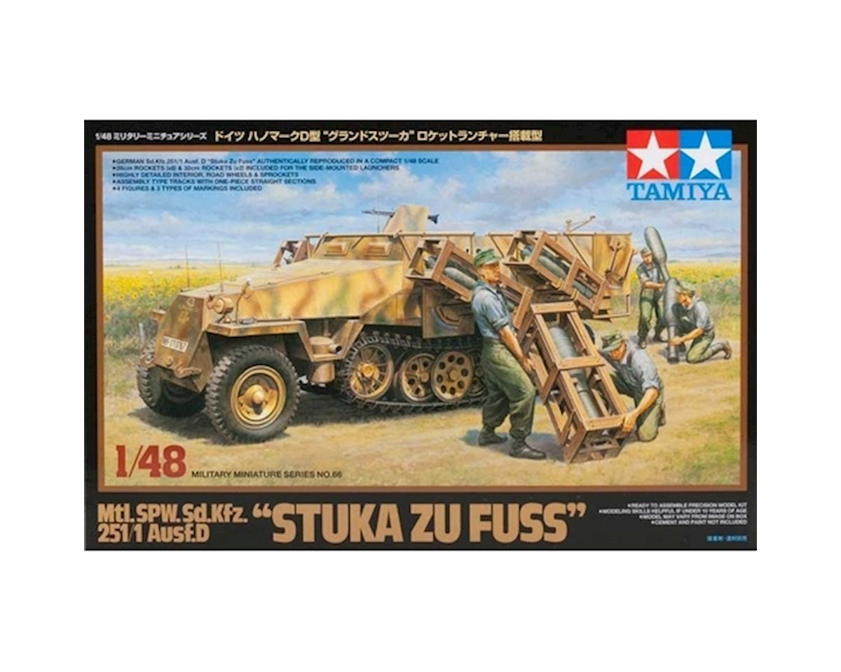 "Tamiya 1/48 Mtl.SPW.Sd.kfz 251/1 Ausf.D ""Stuka Zu Fuss"""