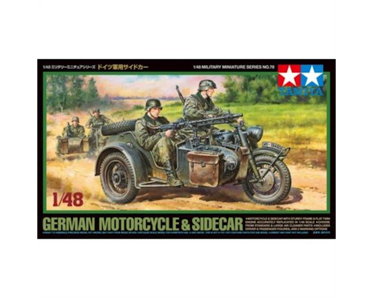 32578, German Motorcycle & Sidecar by Tamiya