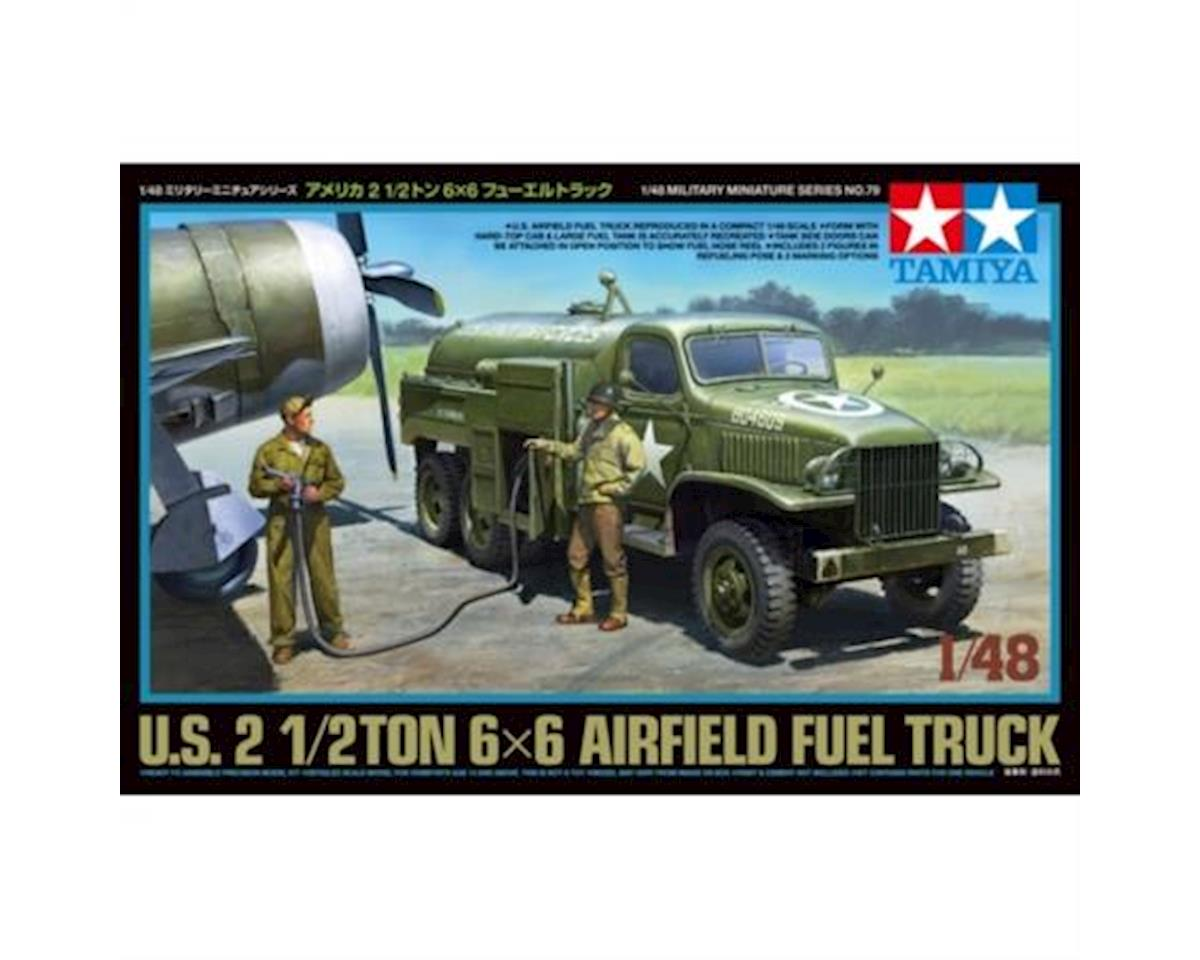 35279, US Airfield 2 1/2 ton Fuel Truck by Tamiya