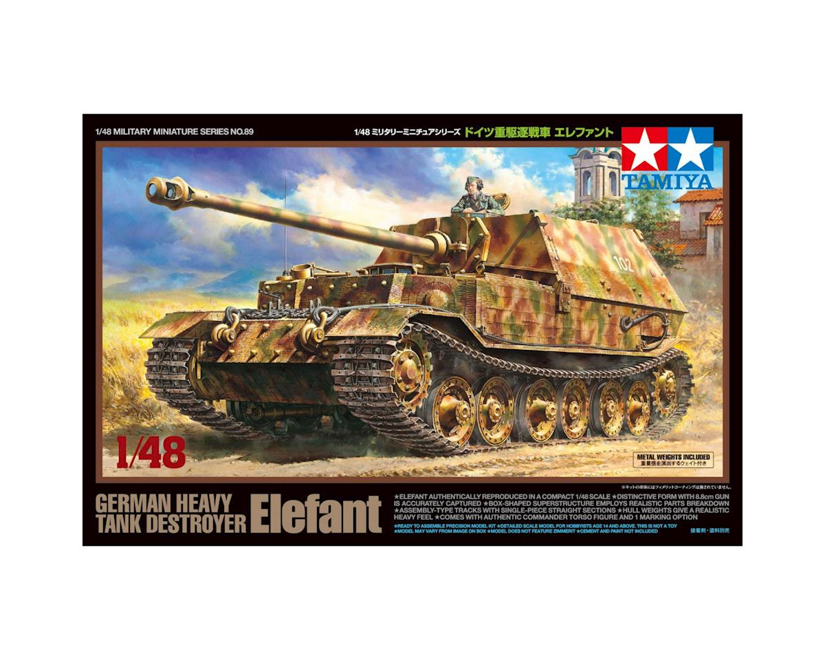 Tamiya 1/48 German Heavy Tank Destroyer Elefant