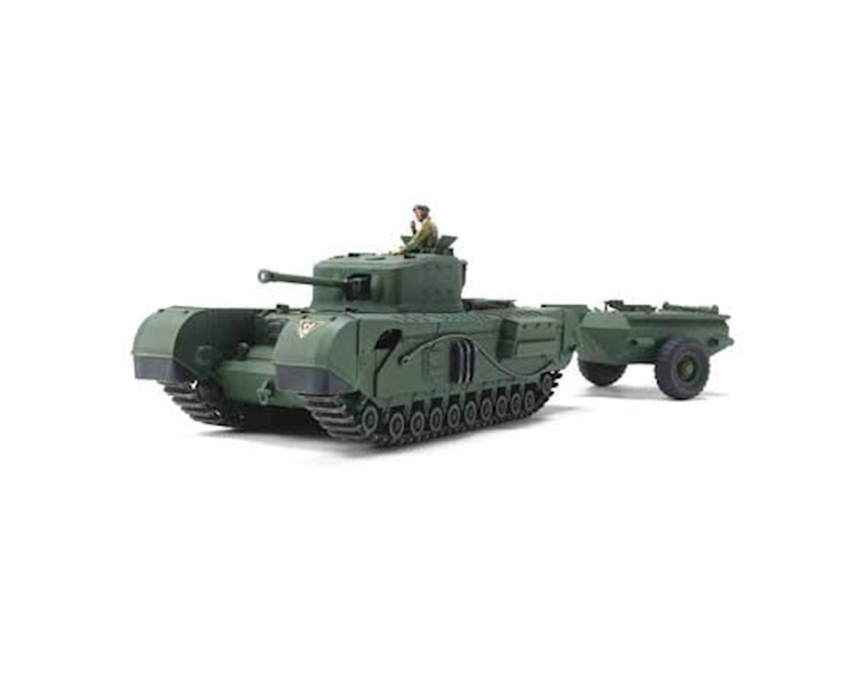 Tamiya 1/48 British Tank Churchill Mk.VII Crocodile