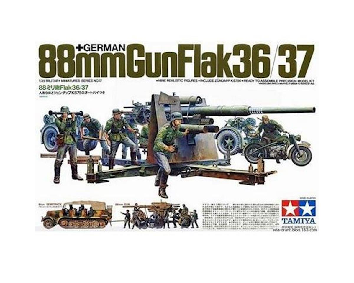 Tamiya 1/35 German Gun Flak,88mm