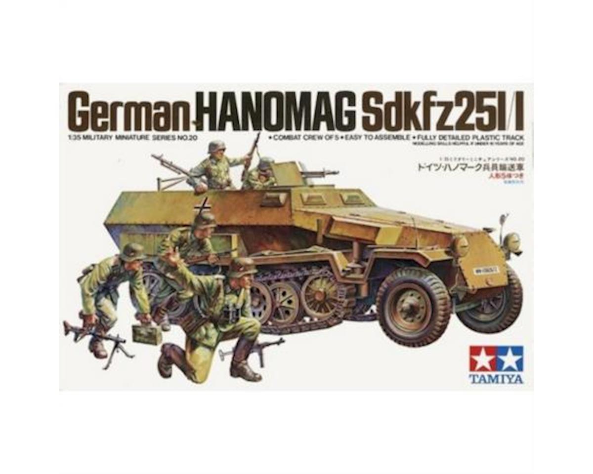 Tamiya 1/35 German Hanomag SdKfz