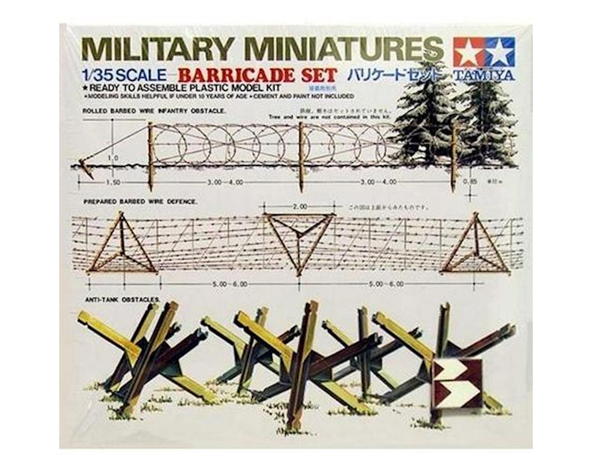 Tamiya 1/35 Barricade Set