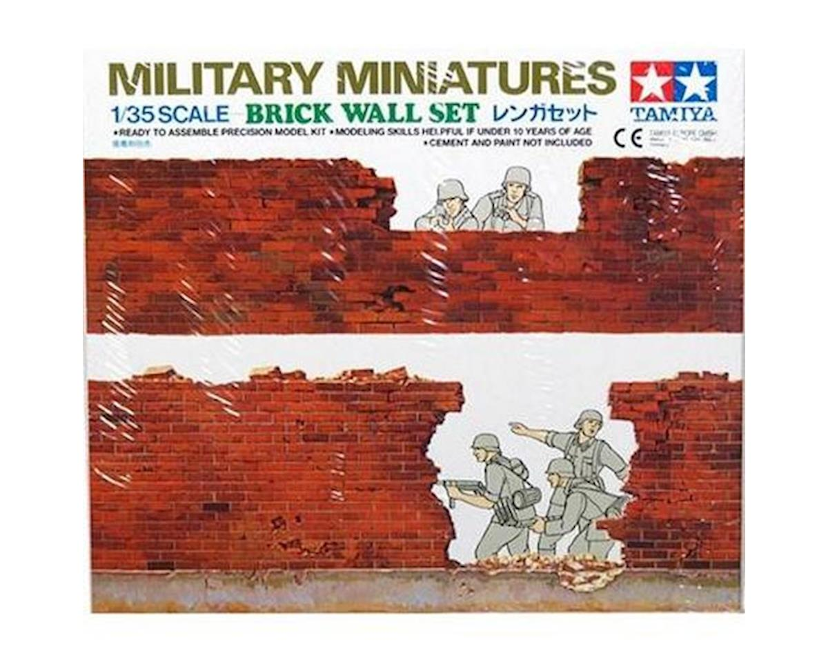 1 35 BRICK WALL SET by Tamiya