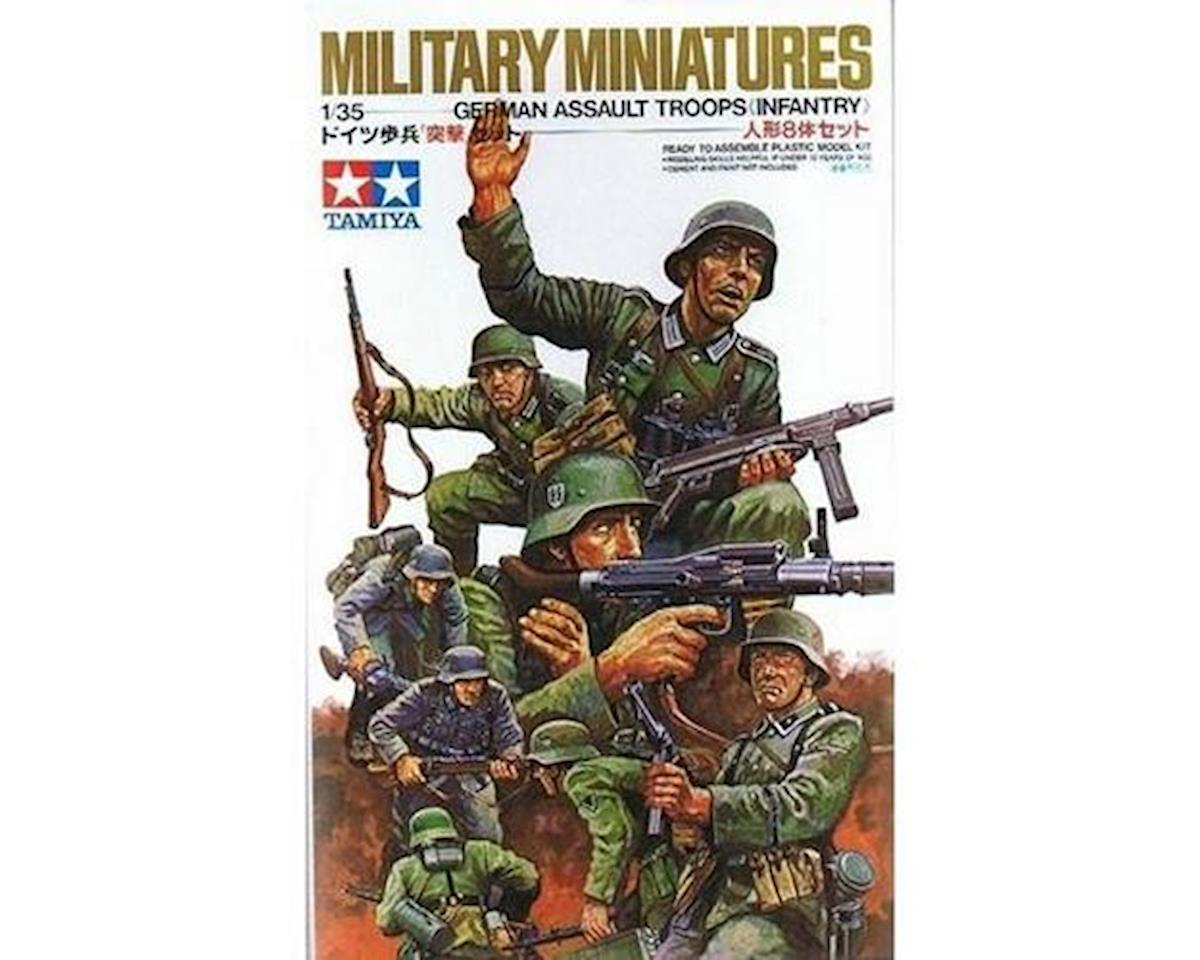 1 35 GER ASSLT TROOPS by Tamiya
