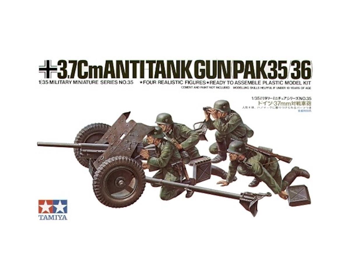 1 35 GER 37MM ANTITNK GUN by Tamiya