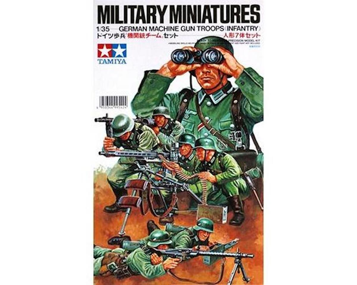 1/35 German Machine Gun Troops by Tamiya