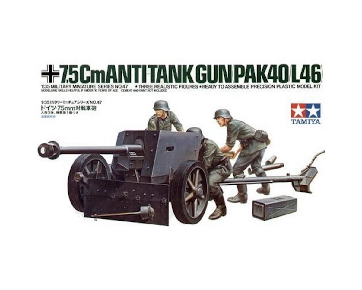 Tamiya 1/35 German 7.5cm Pak40 AT Gun