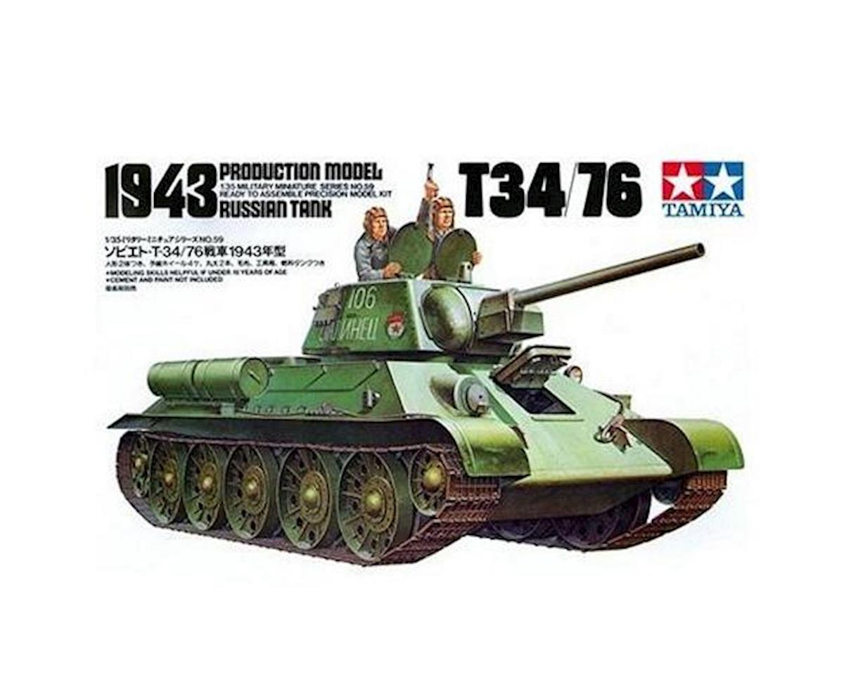 Tamiya 1/35 Russian 734/76 '43 Tank