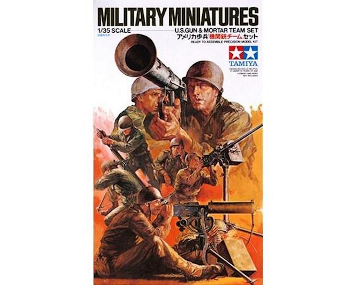 1/35 US Gun & Mortar Team by Tamiya