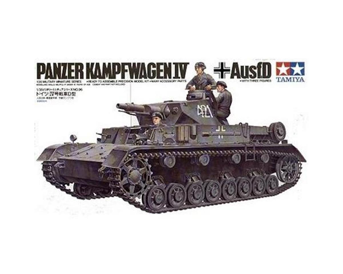 Tamiya 1/35 German Panzer IV Ausf.D