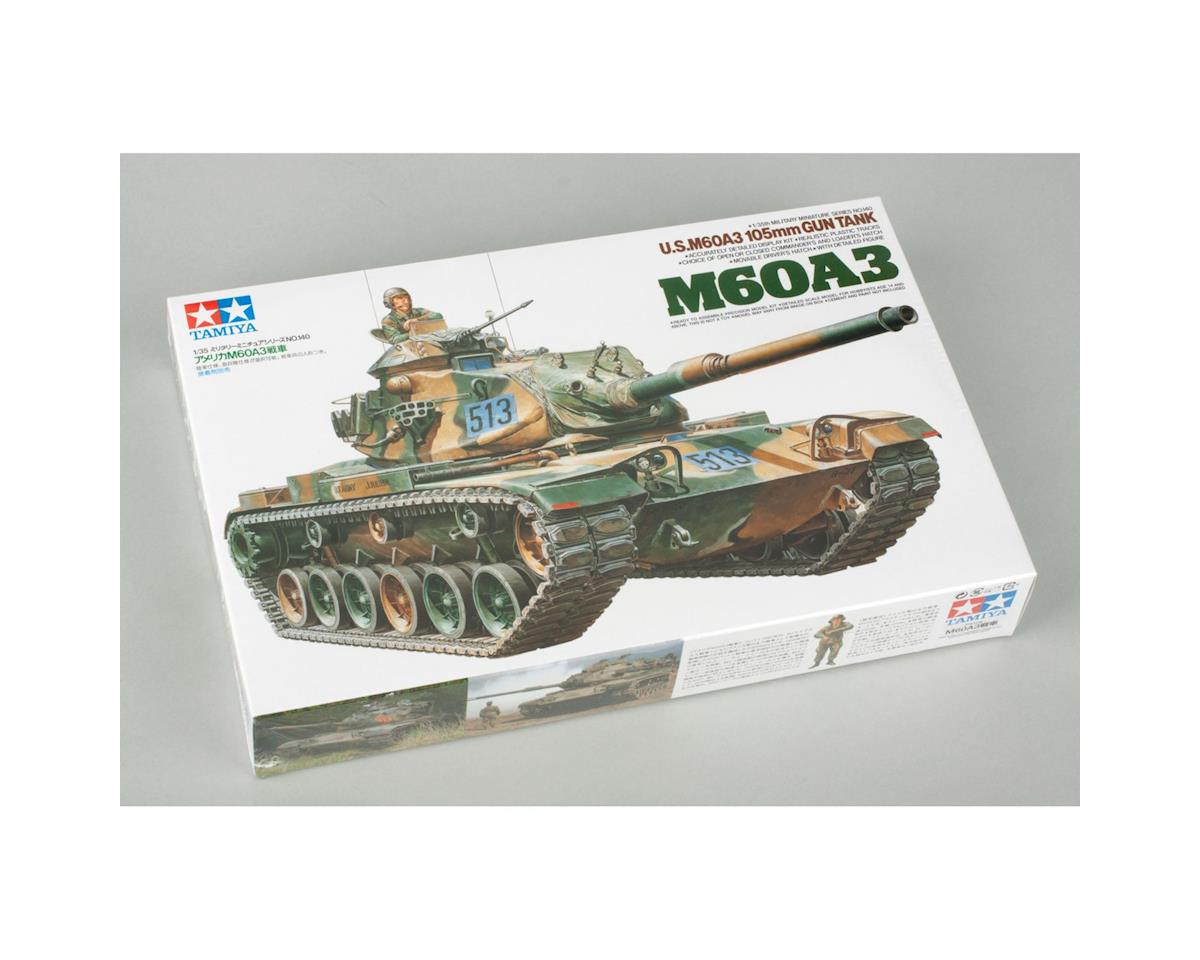 Tamiya 1/35 US M60A3 105mm Gun Tank