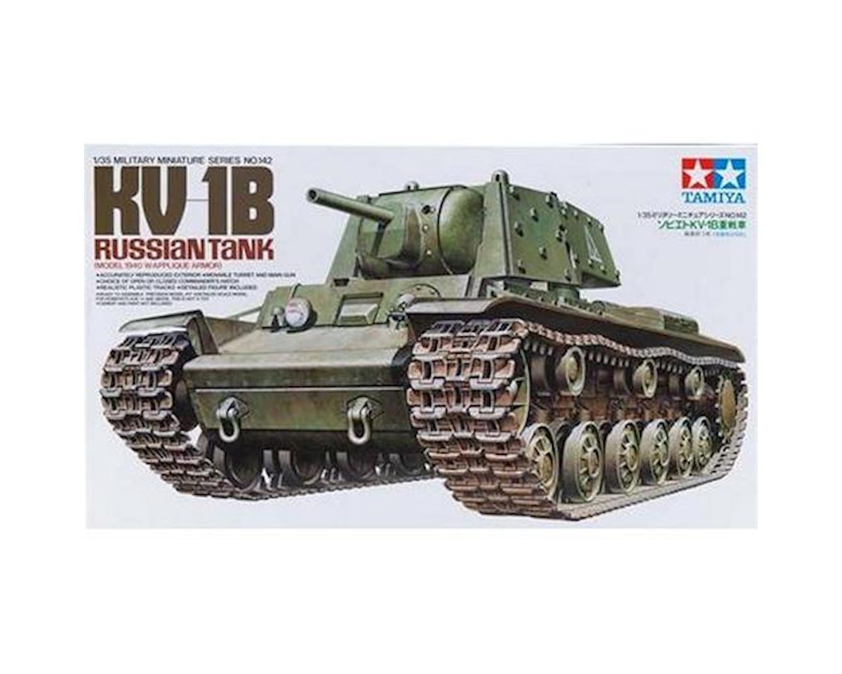Tamiya 1/35 Russian KV1B Tank Mod 1940