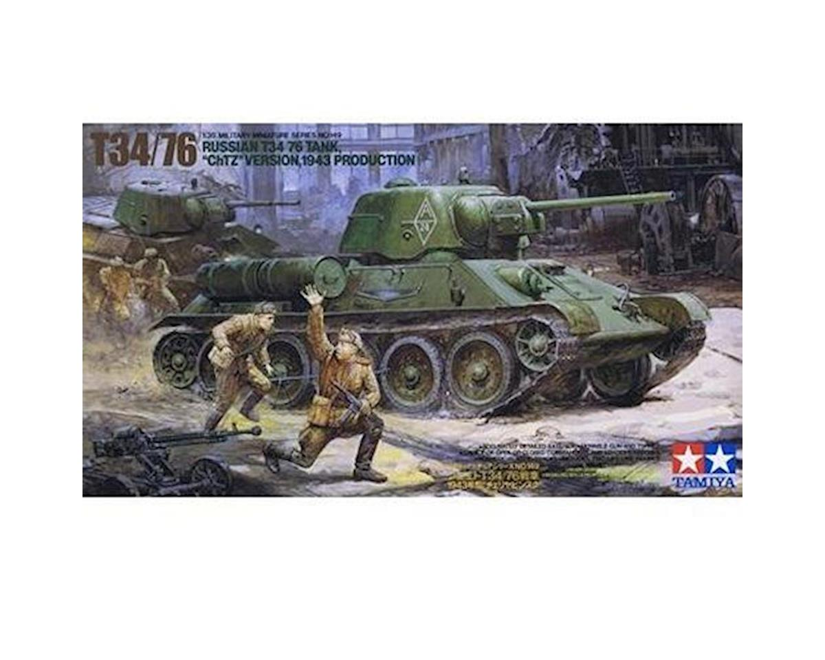 Tamiya 1/35 Russian T34/76 ChTZ Kit