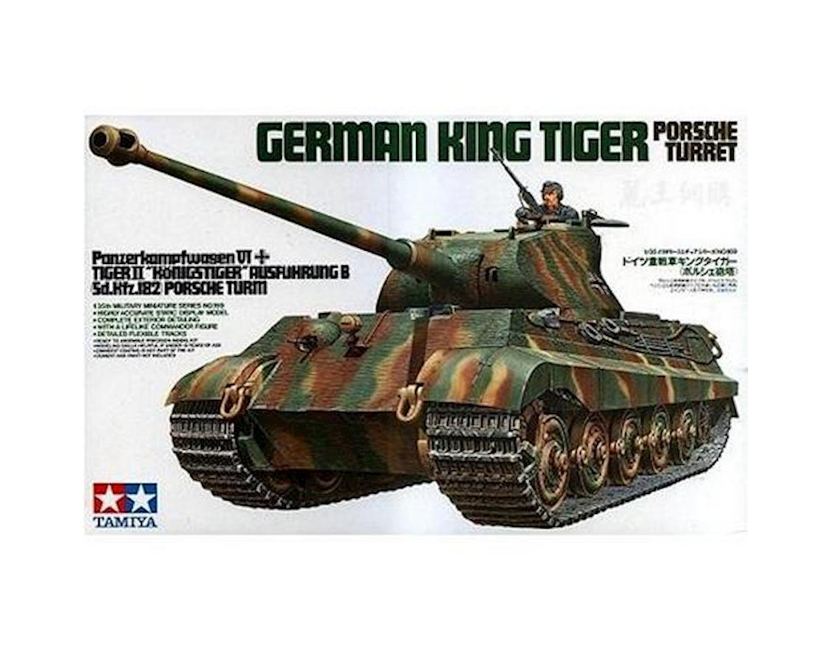 Tamiya 1/35 King Tiger Porsche Turret