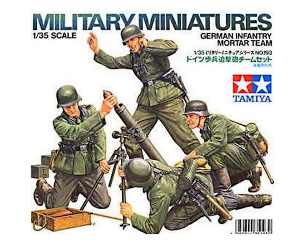 Tamiya 1/35 German Infantry Mortar Team Set