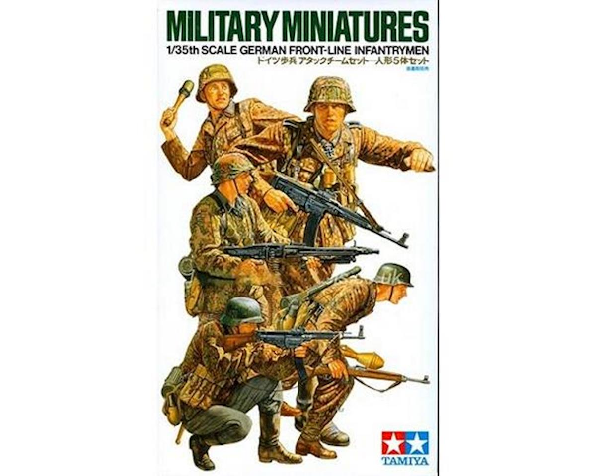 1/35 German Front Line Infantry by Tamiya